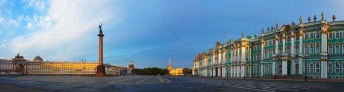 Panorama St. Petersburg Eremitage