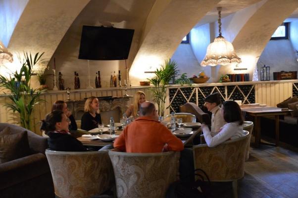 Das Restaurant Gastronom in St. Petersburg