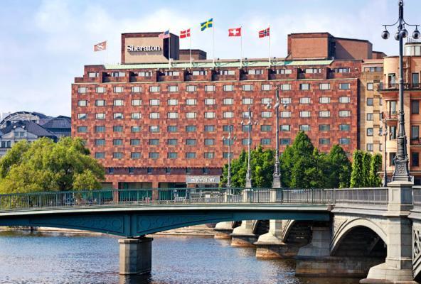 Hotel Sheraton Stockholm - Fassade