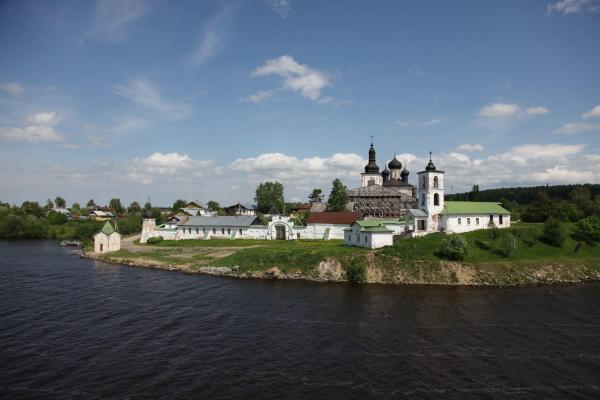 Flussfahrt Russland