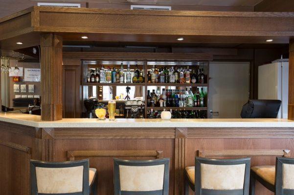 Lounge Bar River Melody MS M. Rostropovich Flusskreuzfahrt