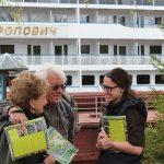 Willkommen auf der MS M. Rostropovich Mandrogi, Flusskreuzfahrt