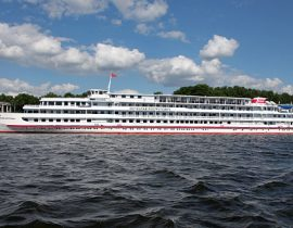 Das Luxusschiff MS M. Rostropovich Flusskreuzfahrt
