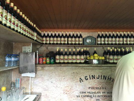 A Ginjinha in Lissabon