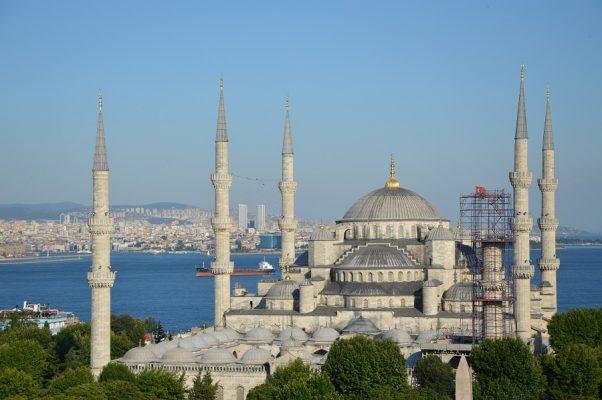 Blaue Moschee Istanbul im Sommer