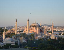 Hagia Sophia im Abendlicht Istanbul
