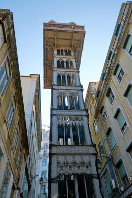 Sehenswürdigkeiten in Lissabon: Elevador de Santa Justa