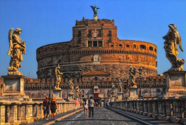 Städtereise Rom: Engelsburg