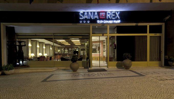 Fassade Hotel SANA Rex Lissabon