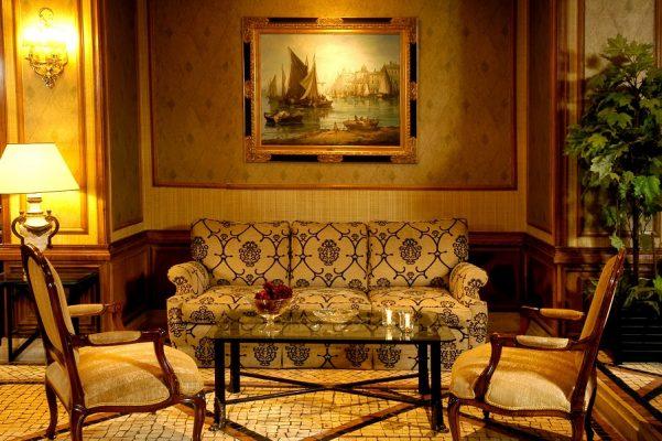 Lobby Hotel SANA Rex Lissabon