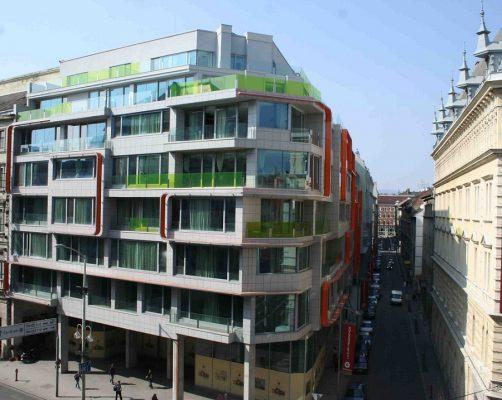Boscolo Residence Fassade Budapest
