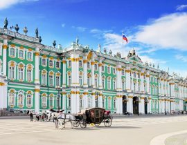 Gruppenreise nach St. Petersburg: Eremitage