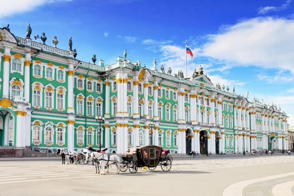 Sehenswürdigkeiten in St. Petersburg: Eremitage