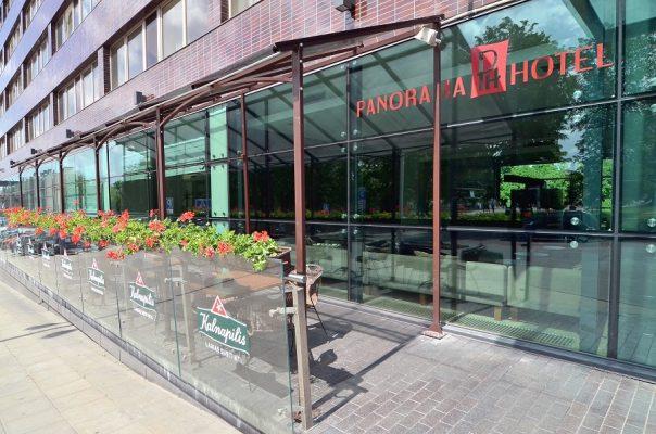 Panorama Hotel Outdoor-Café Vilnius