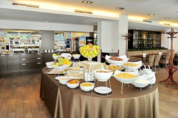 Panorama Hotel Vilnius Frühstücksbuffet