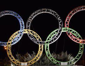 Olympische Ringe in Sotschi