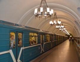 Bahn der Moskauer Metro