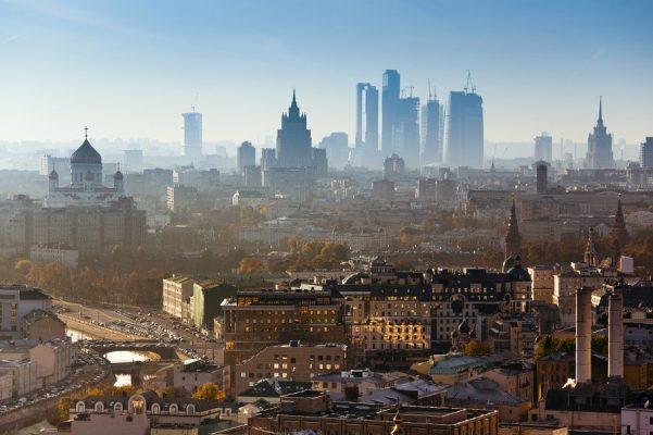 Moskau, Sperlingsberge in Moskau, Seilbahn Moskau