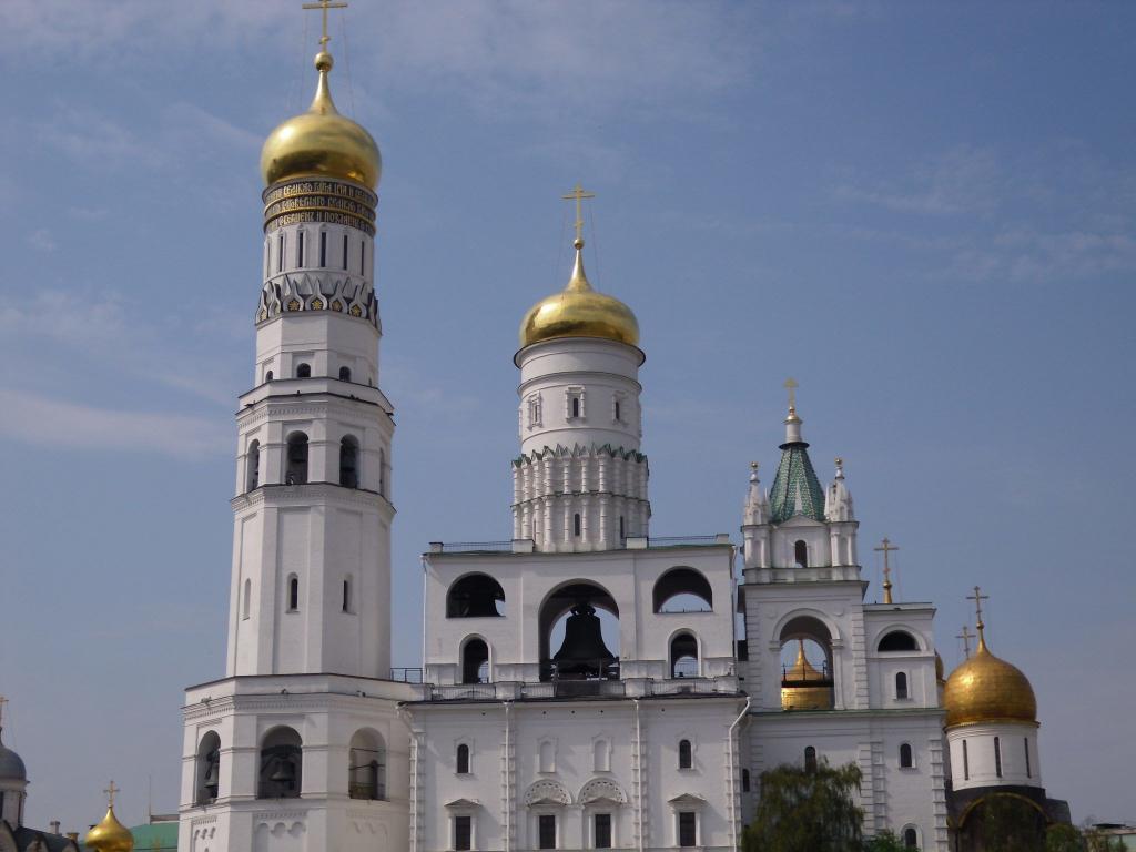 """Moskauer Kreml: Glockenturm """"Iwan der Große"""" im Kreml"""