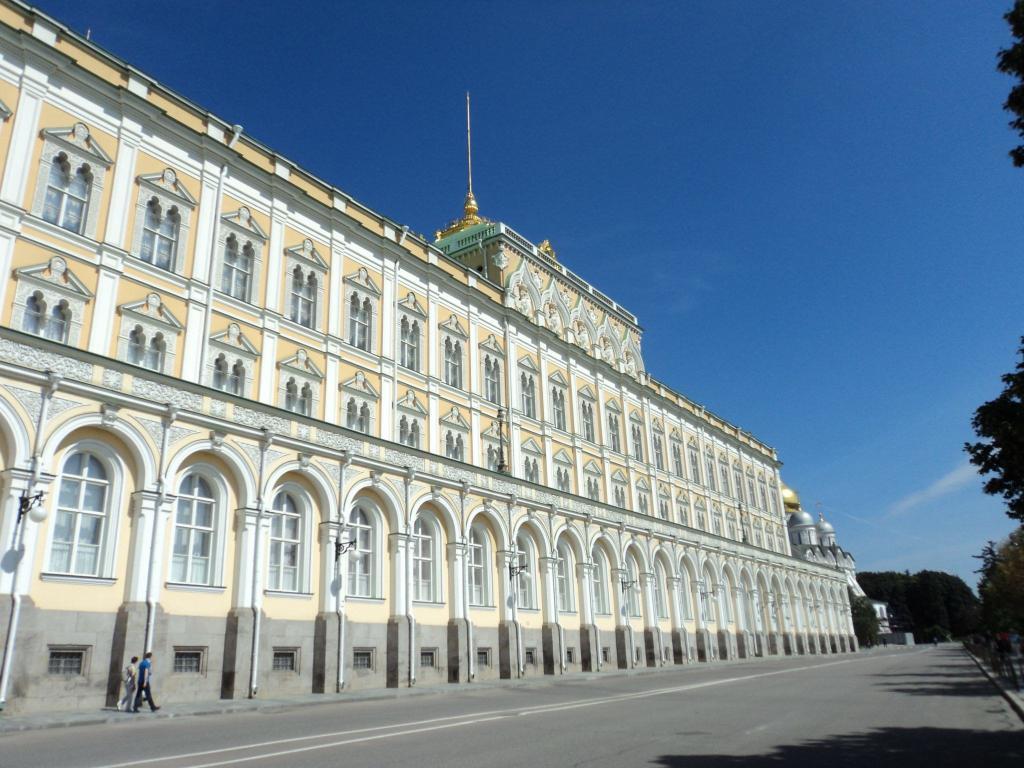 Seitenansicht des Kremlpalastes