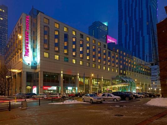 Fassade Hotel Mercure Centrum Warschau