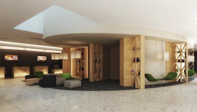 Lobby Hotel Novotel Centrum Krakau