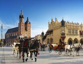 Reise nach Krakau