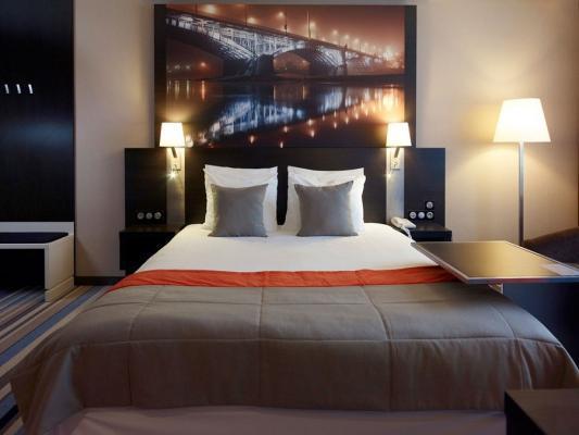 Doppelzimmer Hotel Mercure Centrum Warschau