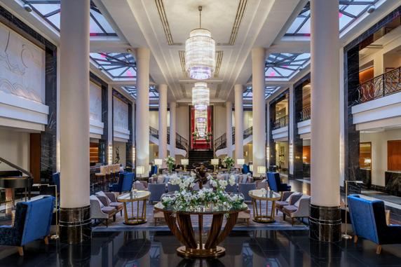 Lobby - Corinthia Hotel, St. Petersburg