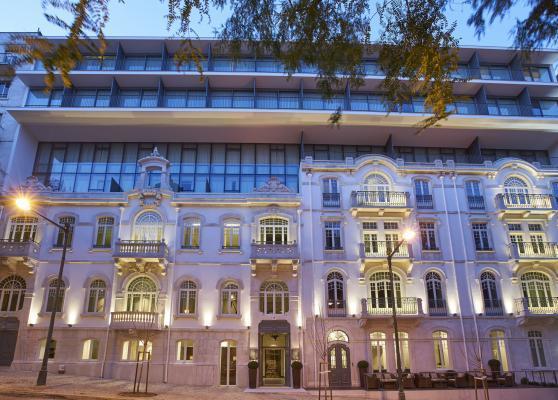 Fassade Hotel PortoBay Liberdade***** in Lissabon
