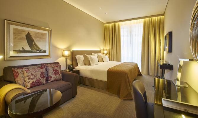 Doppelzimmer Hotel PortoBay Liberdade***** in Lissabon