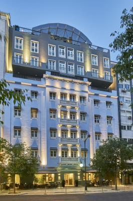 Fassade Hotel PortoBay Marquês**** in Lissabon