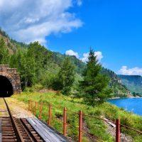 Transibirische Eisenbahn Strecke