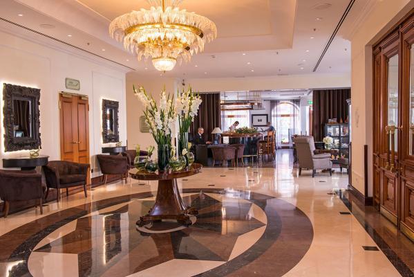 Lobby - Hotel Radisson Royal, St. Petersburg