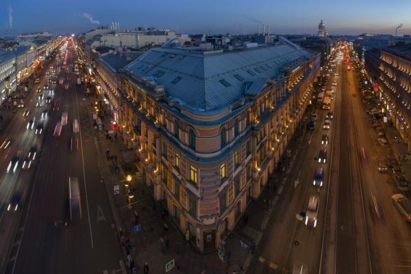 Fassade - Hotel Radisson Royal, St. Petersburg