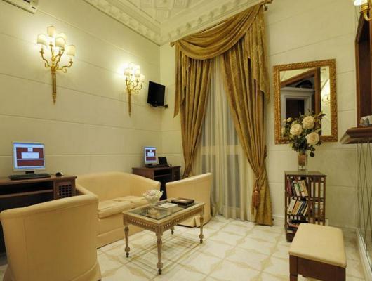 Lobby - Hotel Opera Roma, Rom