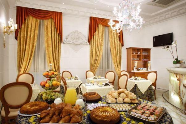 Restaurant - Hotel Opera Roma, Rom