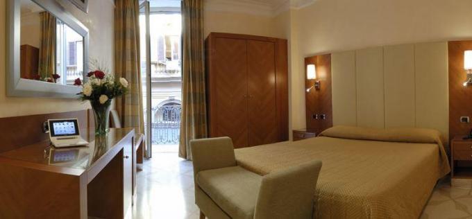 Doppelzimmer - Hotel Opera Roma, Rom