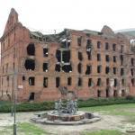 Gerhardt Mühle, Ruine aus der Schlacht um Stalingrad, Wolgograd