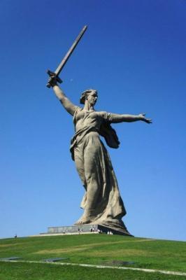 Mutter-Freiheits-Statue, Wolgograd