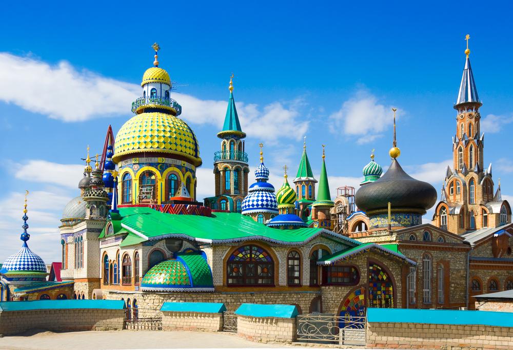 Sehenswürdigkeiten in Kasan: Tempel aller Religionen