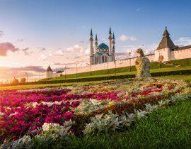 Kasan -Kul Sharif Moschee und Kasaner Kreml