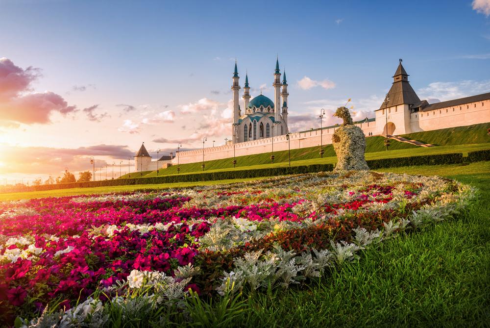 Sehenswürdigkeiten in Kasan : Blick auf den Kasaner Kreml