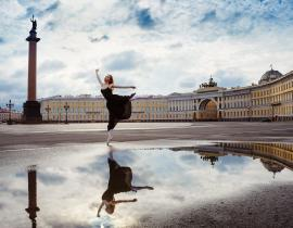 Philharmoniker - Schlossplatz, St. Petersburg