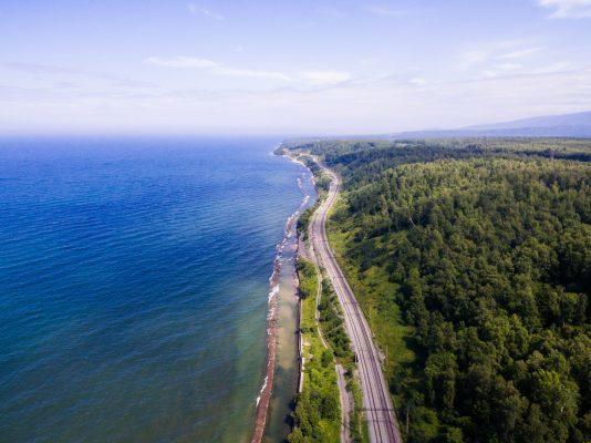 Transsibirische Eisenbahn Reise