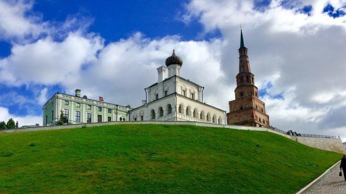 Städtereise Kasan Russland- Blick auf den Kreml