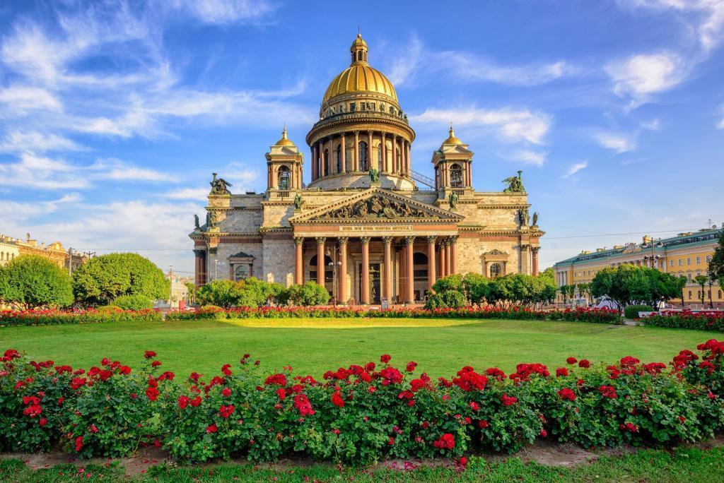 Sehenswürdigkeiten in St. Petersburg: Isaak-Kathedrale