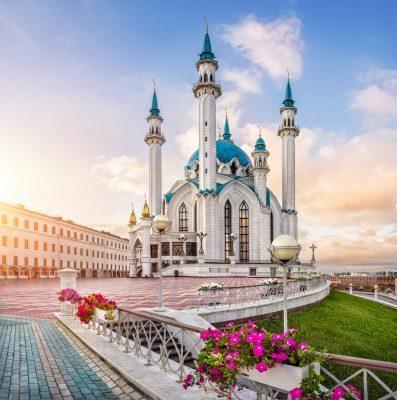 Städtereise Moskau Kasan: Kul Sharif Moschee Kasan