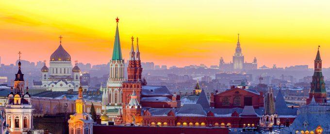 Urlaub in Moskau