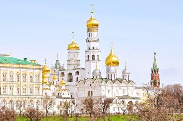 Moskau-Kremls-Kathedralen